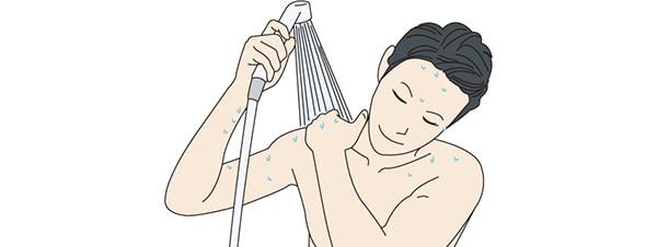 脱毛の後は温めのシャワーなどで済ませる