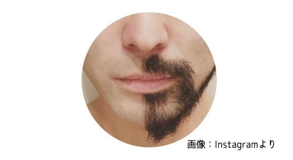 山田孝之ヒゲ画像