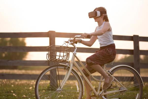 VRサイクリングのイメージ