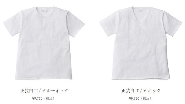 乳首の透けない白Tシャツ商品イメージ画像2