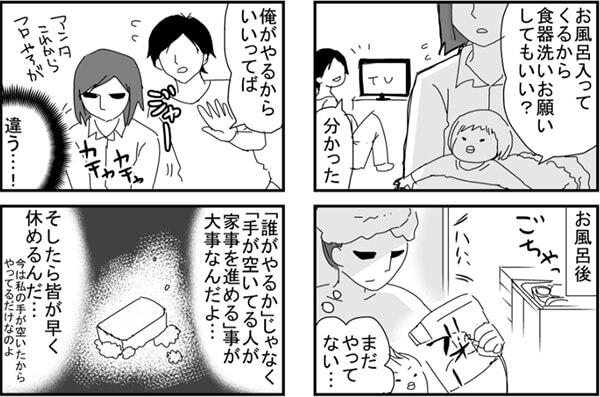 ちくまさん4コマ漫画