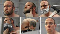 【海外のヒゲ剃り】斧やスコップで…猛者たちが公開した動画が凄い