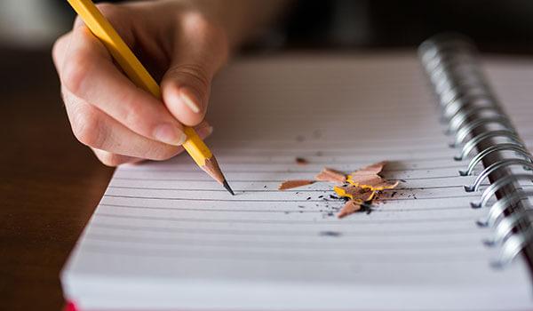 書くストレス解消法