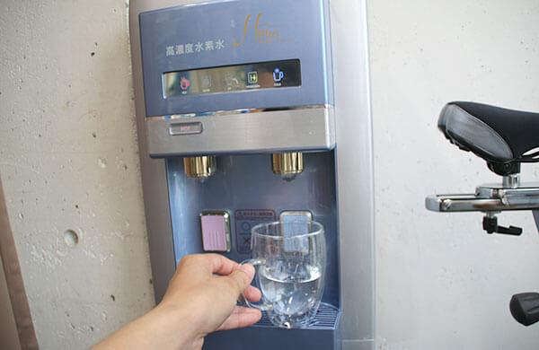 24/7ワークアウトで飲める水素水を体験