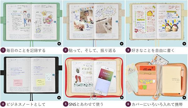 ほぼ日手帳の選び方