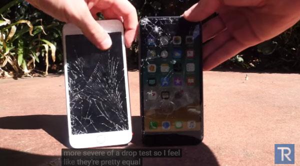 iPhone8の割れやすさをテストした結果