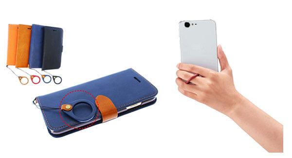 iPhone8や8Plusにも使えるリングストラップ