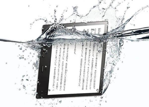 防水の『Kindle Oasis』登場!7インチ8GBで33980円から