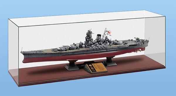 戦艦大和用のオリジナルディスプレイケース