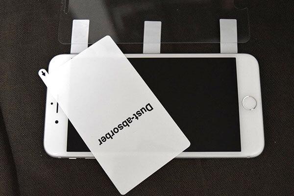 スマホに保護フィルムを綺麗に貼る簡単な方法7