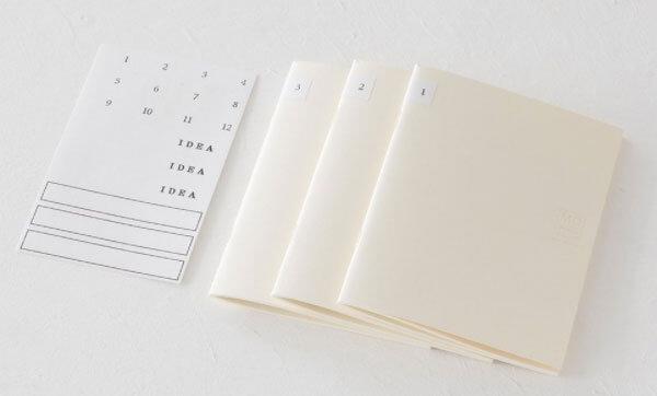 逆算手帳と一緒に使うのにオススメなノート
