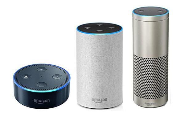 AmazonEchoは3タイプ5980円から!外付けスピーカーOKの優秀機