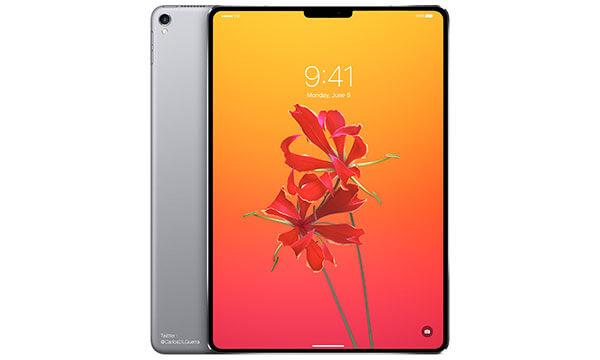 ベゼルレス化とFaceID?新型iPad Proは2018年春に発表か