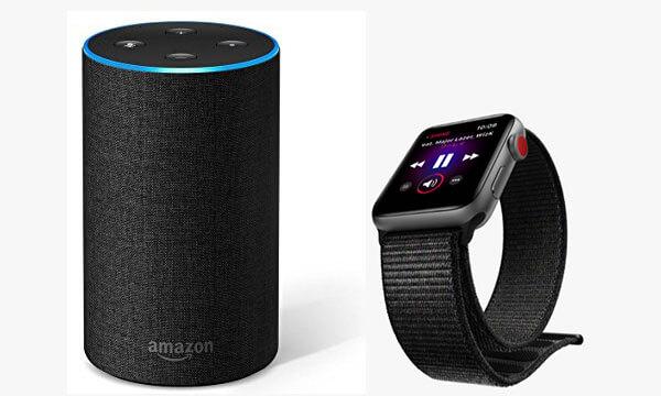 AmazonEchoをiPhoneやAppleWatchと接続して曲をかけよう!